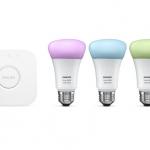 """iPhoneで光の色や明るさ調整調整を遠隔で行えるライト""""Philips hue"""""""